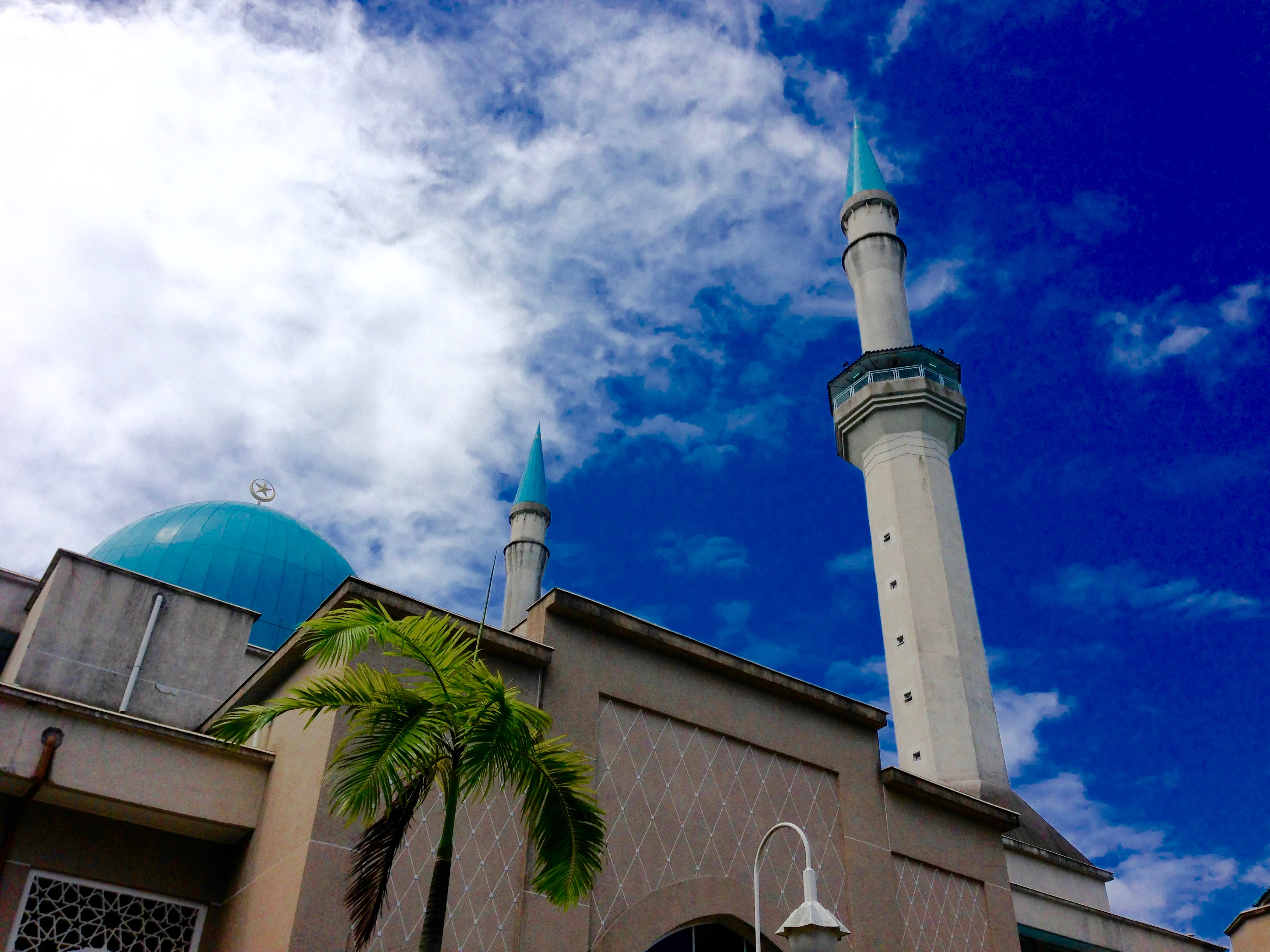 SHAS Mosque, IIUM - Left Entrance