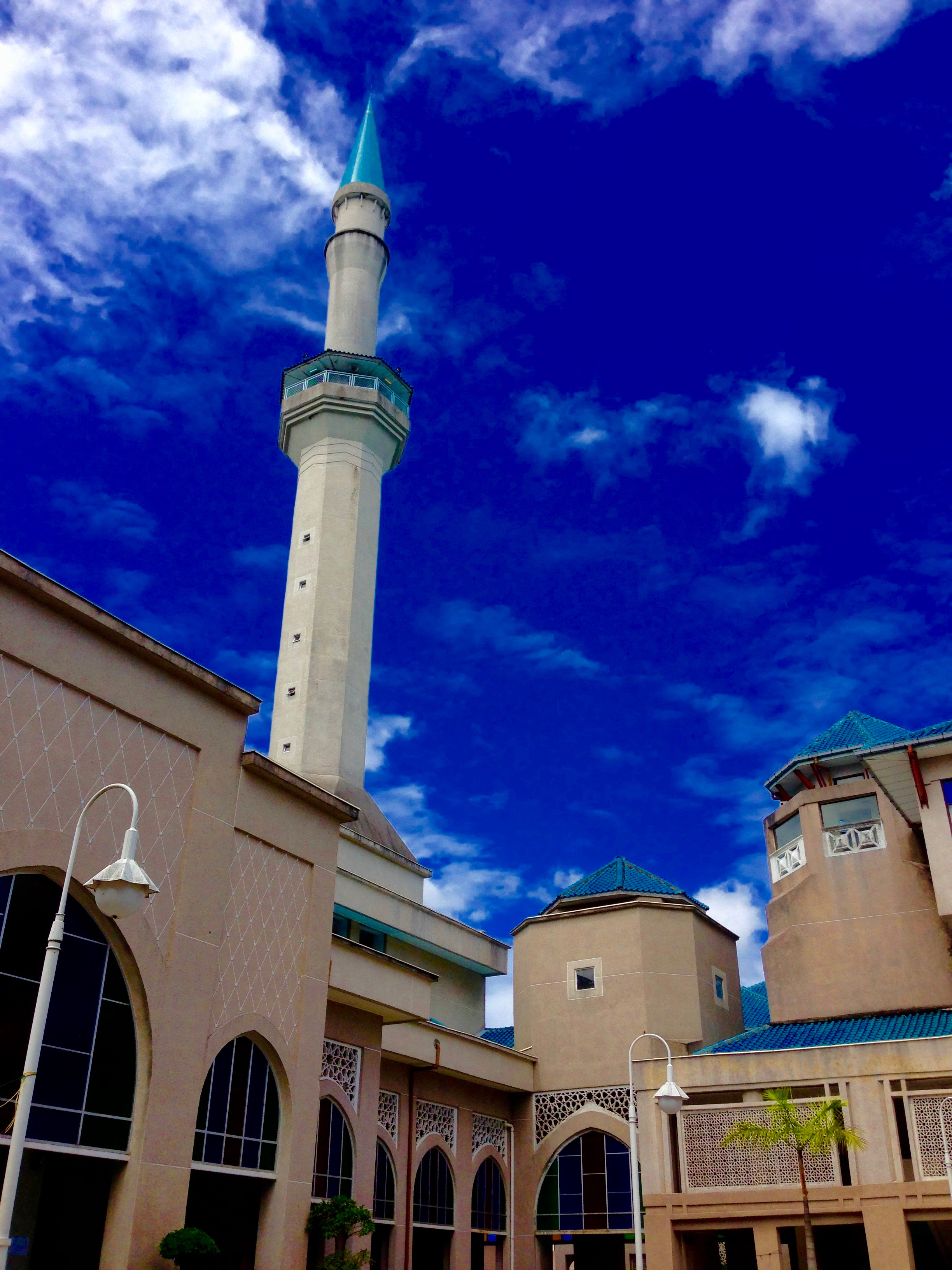 SHAS Mosque and the Beautiful Sky