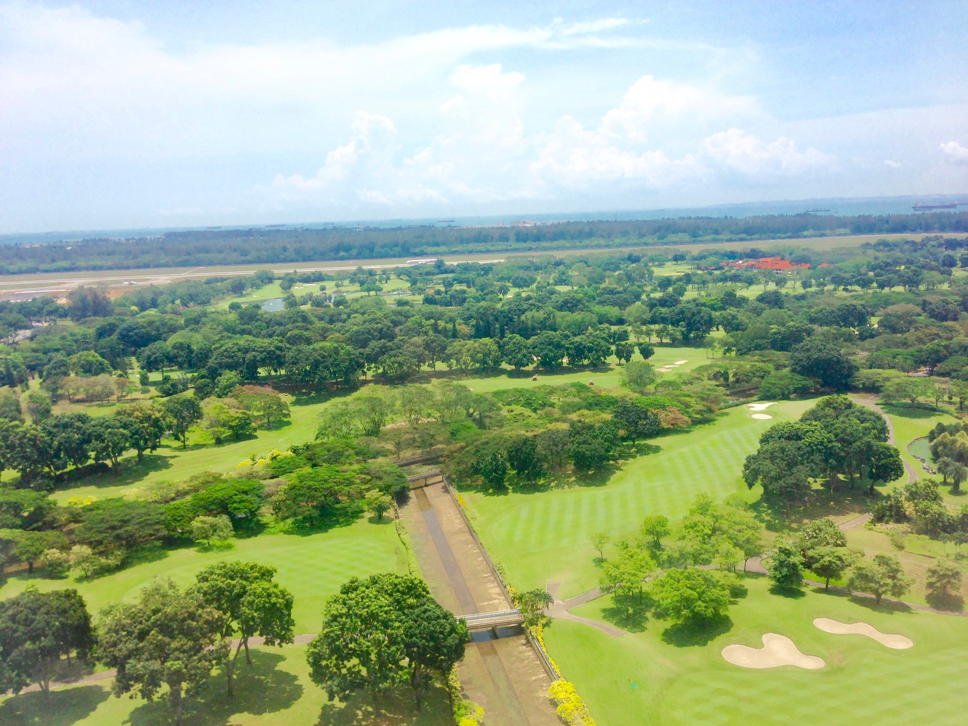 Sky View for the Gardens Before Changi Airport